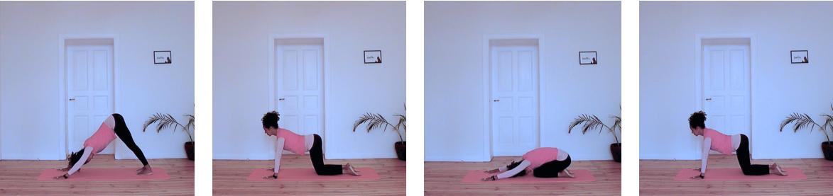 sonnengruß abfolge yoga
